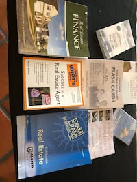 Real Estate book classes complete set,