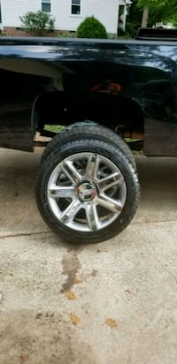 22 inch  Cadillac Escalade wheels  for sale or tra Charlotte