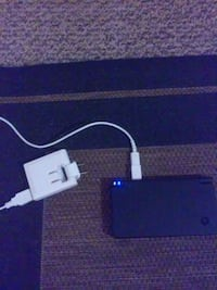 Nintendo DSi with charger