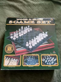 Brand new, 3-in-1 chess set  Coquitlam