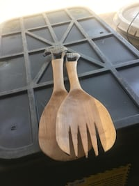 Handcrafted salad utensil from South Africa  Norco, 92860