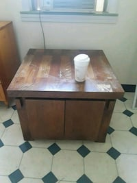rectangular brown wooden table  West Springfield, 01089