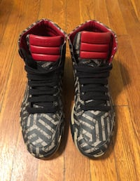 Gucci tribal print sneakers size 11 good condition originally purchased from Saks 5th Authentic Washington, 20002