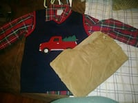Toddler 5t Christmas outfit.  Alabaster, 35007