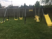 black and yellow outdoor play set Saginaw, 48603