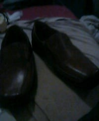 pair of black leather shoes Fresno, 93726