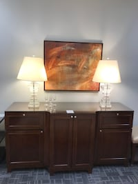 The Ritz console with glass top Oakville