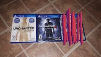2 PS4 games Uncharted 1,2, 3, 4, 30$ for both Montreal