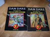 Dan Dare Man From Nowhere Rogue Planet Dragons Dream Vol 1 & 2
