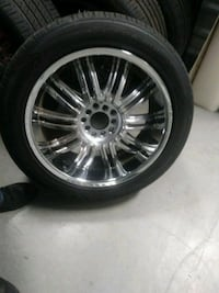 Tires and rims. 400 obo Chesapeake, 23325
