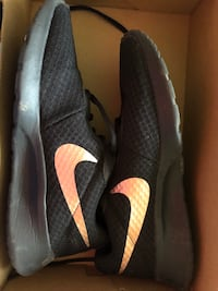 Rose gold an black Nike's size 8. $50obo Chambersburg, 17201