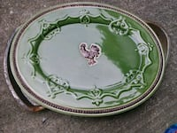 Large oval plate w/ rooster Jeffersonville, 47130