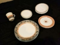 6 piece Cornell dinner set with extra pieces Suffolk, 23435