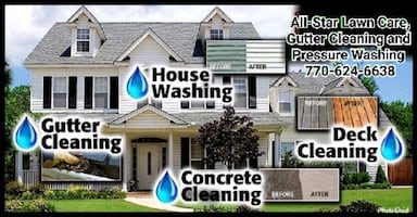 All-Star Lawn Care,Gutter Cleaning and Pressure Washing   [TL_HIDDEN]
