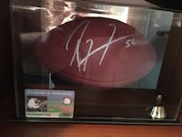 RAY LEWIS SIGNED FOOTBALL Gaithersburg, 20878