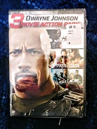 Dwayne Johnson movies 3 dvd collection Norman, 73071