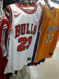 white and red Nike basketball jersey Mont-Royal, H3R 3L2
