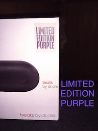 Special LIMITED EDITION PURPLE Pill Bluetooth speaker w/black pill case Santa Rosa