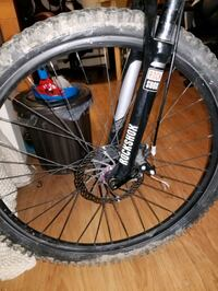 Mens schwinn full suspension with rock shocks