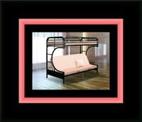 Twin futon bunkbed frame Capitol Heights, 20743