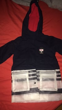 Navy and red hoodie jacket New York, 10452