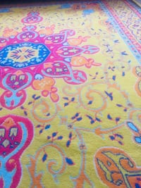 blue, pink, and yellow floral area rug Beltsville, 20705