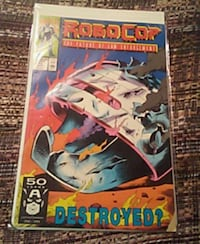 Robocop comic book