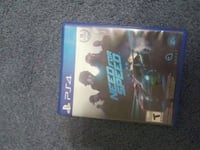 Sony PS4 Need for Speed game case Blakely, 18452