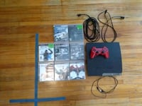Ps3 with controller and games Hamilton, L8P 1E2