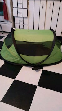 green and black camping tent Toronto, M1W 2H7