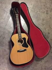 Madiera Acoustic Guitar by Guild - hard case