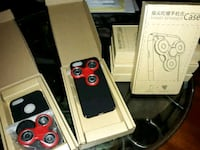 6 Red and Black Hand Spinner iPhone Case Washington, 20019