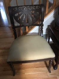 Accent chair, newly painted and reupholster, $35 each OBO Sterling, 20165