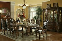 Luxurious dinning set with china