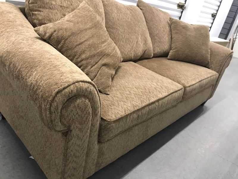Tan couch with loveseat 1bc503aa-1fd2-491a-8f28-0167ec15fa9b