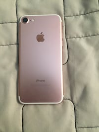 Rose gold iPhone 7. Only 5 months old. Has glass screen protector. Price negotiable