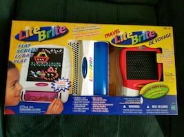 Lite brite plus travel lite brite