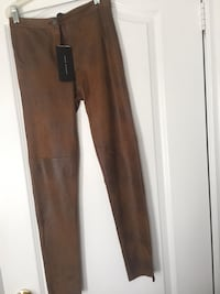 Selling size small Zara pleather brown pants Vaughan, L6A 3L4