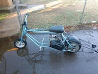 blue and black motorized bicycle Fort Sill, 73503