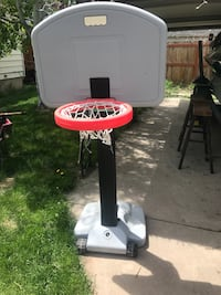 white and red Little Tikes basketball hoop Salt Lake City, 84108