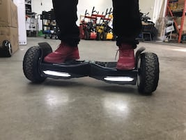 Super tires , terrain hoverboard