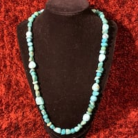 Natural Turquoise Beaded Necklace Ashburn, 20147
