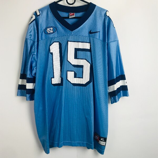 78853a1beb3e Used Vintage Nike North Carolina Tar Heels  15 Throwback Jersey Stitched  Pro Cut 44 L for sale in Jurupa Valley