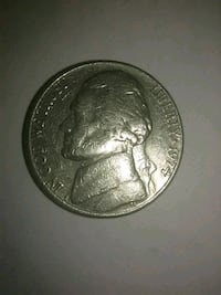 1974 nickel Price, 84501