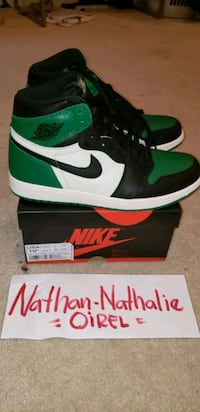 green-and-black Nike Air Force 1 high Frederick, 21704