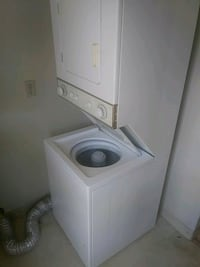 white stackable washer and dryer Fremont, 94536