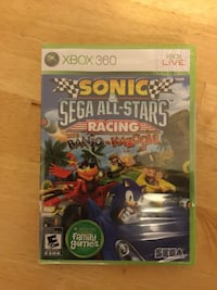 Sonic & Sega All-Stars Racing w/ Banjo - Kazooie game for XBOX 360 Charles Town, 25414