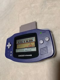Nintendo gameboy advance and Tetris  game