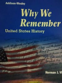 Why We Remember - USA history Textbook