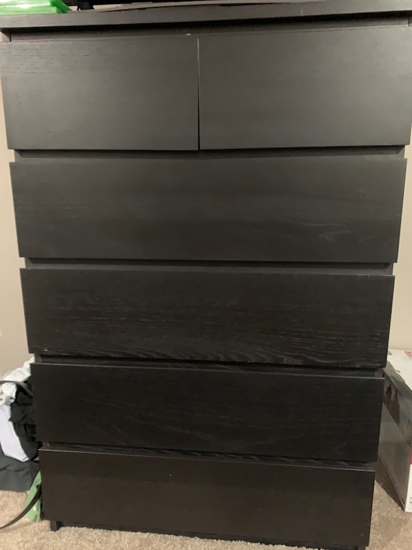 Sold Queen Bedroom Set With Mattress Ikea Malm In Missouri